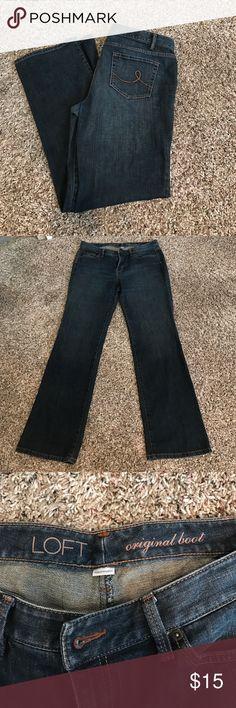 LOFT denim jeans in excellent condition size 12 LOFT denim jeans in excellent condition size 12 LOFT Jeans Boot Cut