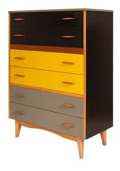 "1960's ""Lebus"" Chest of Drawers"