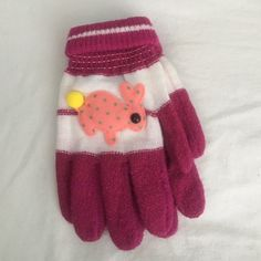 NWT bunny gloves As shown Unknown Accessories Gloves & Mittens