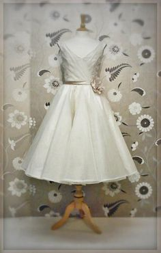 Samantha by Joanne Fleming  Cute little elopement dress!