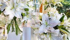 Entrance flower storyboard creating an impact for a Wedding at Hellenic Hall #functionsforafrica...