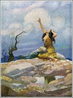 N. C. Wyeth (Illustration from Westward Ho! by Charles Kingsley;   Published by Charles Scribner's Sons ~ 1920)
