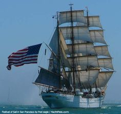 Sailing in san francisco   Parade and Festival of Sail in San Francisco - News and Video