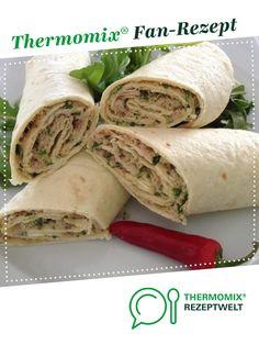 Thunfisch-Wraps von WOH_2015. Ein Thermomix ® Rezept aus der Kategorie Vorspeisen/Salate auf www.rezeptwelt.de, der Thermomix ® Community.