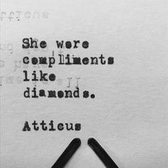 #atticuspoetry #atticus #poetry #poem #diamonds #she #love #findyourwild @laurenholub
