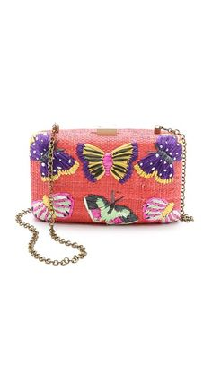 Serpui Marie Lisa Butterfly Clutch