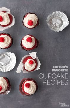 Check out our best cupcake recipes yet!