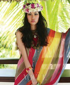 Kim Won Kyoung by Oh Jung Seok (Escape To Tahiti - Vogue Korea July 2010) 7