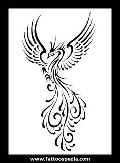 Simple Phoenix Tattoos 1.jpg (329×446)