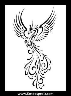 Simple Phoenix Tattoos 1.jpg (329×446)