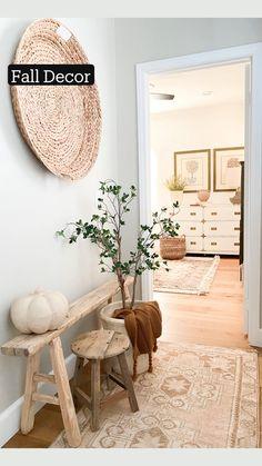 Home Decor Bedroom, Diy Room Decor, Living Room Decor, Interior Design Living Room, Fall Decor, House Design, Decoration, Natural Interior, Natural Home Decor