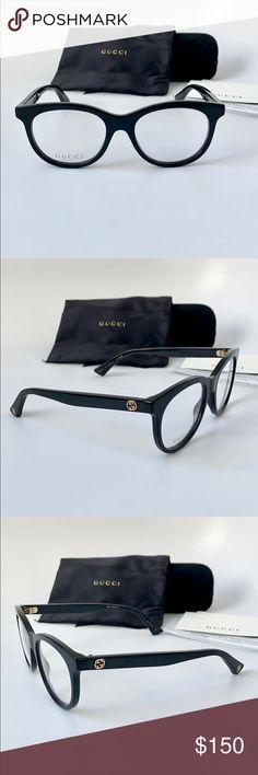 22a8c866f65 Gucci Eyeglasses GG0167O-001 51 Black Frame Gucci Eyeglasses GG0167O-001 51  Black Frame