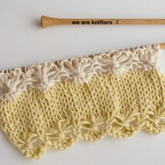 Knitting is an interesting art and most of the people spend their leisure period in knitting socks, sweaters and other things. Therefore, many people are crazy about knitting and they love vogue knitting. Vogue Knitting, Knitting Help, Knitting Stiches, How To Start Knitting, Circular Knitting Needles, Lace Knitting, Knitting Patterns, Crochet Patterns, Loom Patterns