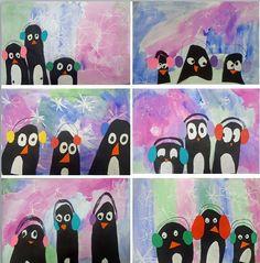My 1st graders cute penguins!
