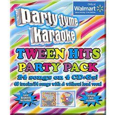 Party Tyme Karaoke: Tween Hits Party Pack (3CD)
