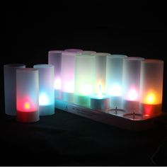 Fairy Rechargeable LED candle lights table lamp indoor lighting guirnaldas luces decorativas home decoration modern for bedroom
