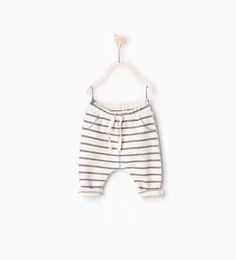 Image 1 de Pantalon à rayures de Zara