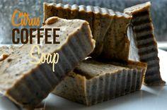 Citrus Coffee Soap Recipe