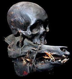 Filipino Art, Head Hunter, Skull Head, Human Skull, Indigenous Art, Wild Nature, Tribal Art, Macabre, Hunting