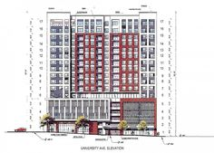 Syracuse University calls proposed student high-rise 'massive and out of line'…