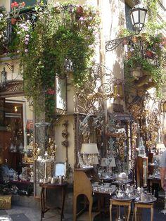 Antique store, Taormina, Sicily