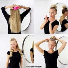 ONE WEAVE.. UNLIMITED HAIR STYLES. Shop our Supreme Clipin One Piece #hairextension EXCLUSIVE to geehair.com.