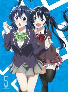 Chiaki and sis Anime Sexy, All Anime, Manga Anime, Anime Art, Girls Characters, Female Characters, Otaku, Gamers Anime, Anime Girl Cute