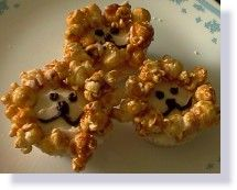Lion cupcakes -  I think I have a few ideas to make them turn out even better, several Bible stories involving lions including Daniel