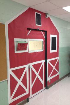My classroom door. We are doing western.