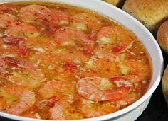 Baked Shrimp in Italian Dressing