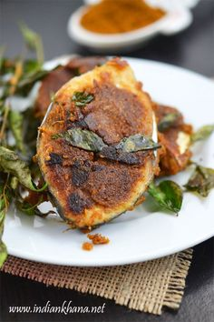 Chettinad Fish Fry or Chettinad Meen Varuval is fish fry in Chettinad style made with freshly made fish masala powder.