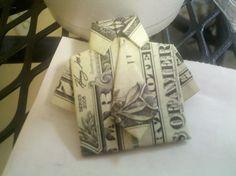 Dollar Bill Tie Shirt Origami