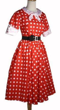 Very lovely 50s style dress. http://www.amazon.com/dp/B003NA9MOY/ref=nosim?tag=x8-20