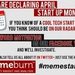 Every month is startup month at Memeburn, but we're doing something special for the month of April. We invite you to let us know. 100 Words, Cool Tech, Start Up Business, Something To Do, Motivation, Startups, Invite, Facebook, Wall