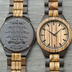 Great Engraved Ebony Wooden Watch Gifts For Dad Great Gifts For Dad, Perfect Gift For Dad, Love Gifts, Gifts For Husband, Best Gifts, Toddler Boy Gifts, Fake Friends, Leather Notebook, Wooden Watch