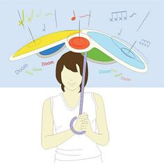 Drumbella: de beats van de regen