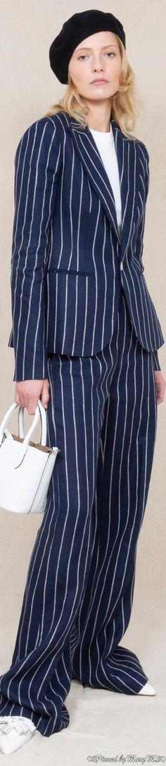 Ralph Lauren Style, Polo Ralph Lauren, Glamour, Street Chic, Couture Fashion, Style Icons, Ready To Wear, Jumpsuit, Vogue