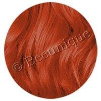 Updated hair dye swatch on Beeunique for Crazy Color Orange Ginger Hair Dyed, Orange Hair Dye, Dyed Hair, Hair Color Images, Hair Color Pictures, Crazy Colour Hair Dye, Cool Hair Color, Special Effects Hair Dye, Dye Image