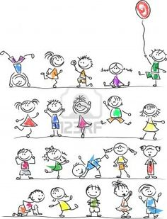 Cute Happy Cartoon Kids Royalty Free Cliparts, Vectors, And Stock Illustration. Image 14501423.