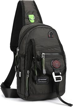 online shopping for Nicgid Sling Bag Chest Shoulder Backpack Crossbody Bags For iPad Tablet Outdoor Hiking Men Women from top store. See new offer for Nicgid Sling Bag Chest Shoulder Backpack Crossbody Bags For iPad Tablet Outdoor Hiking Men Women One Strap Backpack, Shoulder Backpack, Crossbody Shoulder Bag, Backpack Bags, Crossbody Bags, Oakley Backpack, Laptop Accessories, Hiking Accessories, Casual Bags
