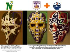 Vintage Goalie Mask Discussion Page :: Vintage Mask Gallery! Hockey Helmet, Goalie Mask, Nhl, Masks, My Photos, Marvel, Gallery, Face, Sports