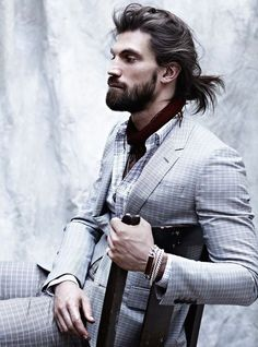 Messy Bun Hairstyles For Men