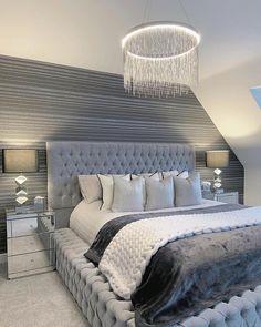 Bedroom Decor For Teen Girls, Room Ideas Bedroom, Home Decor Bedroom, Modern Bedroom, Living Room Decor, Luxury Bedroom Design, Dream Rooms, Luxurious Bedrooms, My New Room