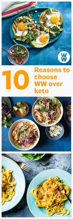 10 reasons to choose WW over keto Petit Déjeuner Weight Watcher, Plats Weight Watchers, Weight Watchers Breakfast, Weight Watchers Diet, Cooking Light Recipes, Ww Recipes, Healthy Recipes, Healthy Groceries, Low Carb Diet