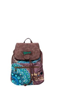 I like this backpack. Desigual women's Osford Bolas Rojas-Carry bag. The perfect rucksack for carrying things comfortably on your back.