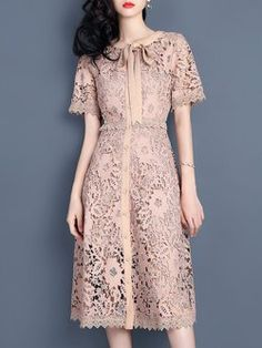 New dress midi vintage outfit Ideas Trendy Dresses, Simple Dresses, Casual Dresses, Short Dresses, Batik Dress, Lace Dress, Couture Dresses, Fashion Dresses, Vintage Dresses