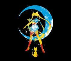 Moon Splash | Sailor Moon | TeeFury