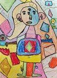 Grade 3 Picasso Portrait