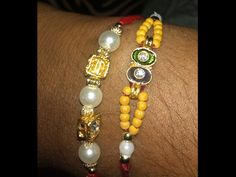 Ideas to make Rakhi can help you surprise your brother. There is nothing more special than a handmade Rakhi. These ideas to make Rakhi will help Rakhi Making, Handmade Rakhi, Raksha Bandhan, Making Ideas, Brother, Beaded Bracelets, Drop Earrings, Beads, Simple