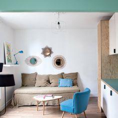 Un espace salon harmonieux